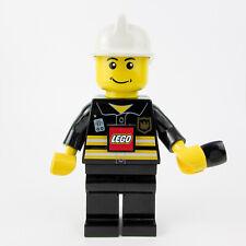 LARGE Lego Fireman Firefighter Wind Up LED Torch Minifigure Dynamo 21cm