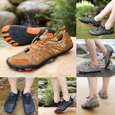 Men Water Shoes Upstream Sneaker Outdoor Hiking Fishing Aqua Elastic Band Rubber