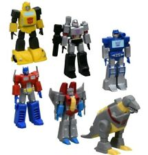 Complete Set (6) NEW Prexio Transformers Mini Figures Hasbro Limited Edition
