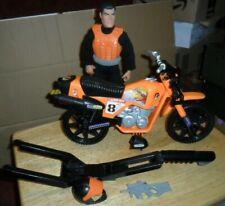 Action Man: Vintage Super X Motorbike and Extreme Biker Rider- 1997 lot #2