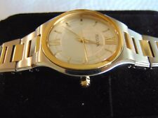 Bulova Women's 31mm Brushed & High Polished 18K Ion-Plated Gold & SS Watch