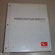Werkstatthandbuch Daihatsu Applause Modell A 101 Stand 10/1997