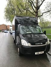 Iveco Daily 35S13 LWB Luton Tail Lift Van Box Black Work Business Removals etc