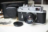 ZORKI 4K Russian Leica Copy 35mm Film RF Camera Jupiter 8 Lens Leather case