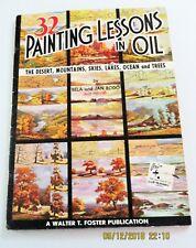 32 Painting Lessons in Oil: Desert Mountains etc by Bela & Jan Bodo, #113