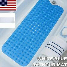 Extra Long Bath Mat Non Slip Anti Skid Rubber Shower Tub Pad Safe Protection Us