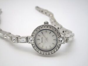 Bulova Ladies Stone Set Watch 96X113  (372D)
