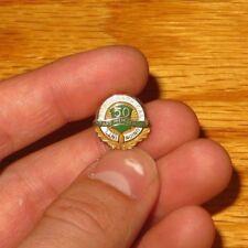 10K Gold Enamel International Typographical Union 50 year Membership Service pin