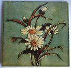 Rare Arts   Crafts Hand Painted  Majolica Tile  Pilkingtons  C1900