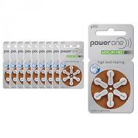30 Piles auditives PowerOne 312 / pile auditive PR41/ pile pour appareil auditif