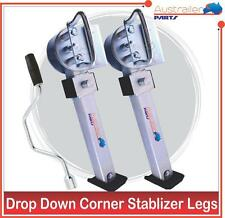 DROP DOWN LEGS. STEADY CORNER, STABILIZER LEGS