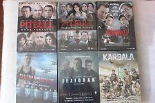 ZESTAW 6 FILMÓW : Pitbull 1 i 2, Konwój, Jeziorak, Karbala POLSKA KOLEKCJA