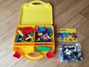 Lego Classic Creative Suitcase (10713) incomplete