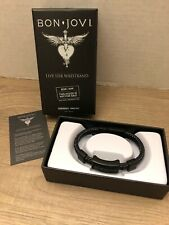 Bon Jovi Live USB Wristband This House is Not For Sale New in Box