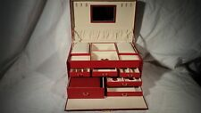 Passage 2 4203 Red Leather Jewel Box