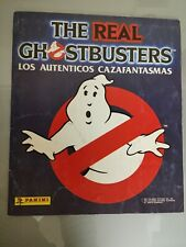 ÁLBUM COMPLETO THE REAL GHOSTBUSTERS 1988 PANINI