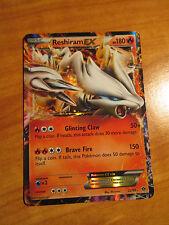 PL Pokemon RESHIRAM EX Card NEXT DESTINIES Set 22/99 Black and White BW 180HP