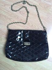 FCUK Black Padded Handbag And Large Clutch Bag