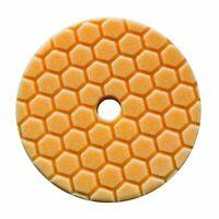 "BUFX/_302/_5 Cutting Micro Fiber Pad Orange 5.5/"" Inner Foam 34/"" By Chemical Guys"