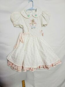 Beautiful Vintage Girl Dress size 5t? Daisy Kingdom