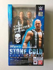 WWE S.H.Figuarts STONE COLD STEVE AUSTIN Wrestling Figure BRAND NEW WWF