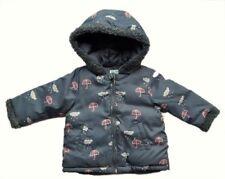 Abrigos y trajes de nieve gris para niñas de 0 a 24 meses