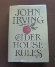 THE CIDER HOUSE RULES by John Irving - 1st/1st HCDJ 1985 - VG+