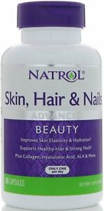 Skin Hair & Nails with Lutein by Natrol, 60 capsule