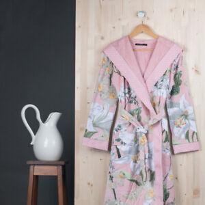 ESSENZA HOME woman terry bathrobe Perri Rosalee pink