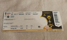 Ticket  WC 2018 FINAL France - Croatia  Hospitality NON PLIER