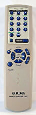 Aiwa RC-ZAS02 Audio System Remote CXNA111 CXNA115 CXNJA20 NSXAJ17 NSXAJ22