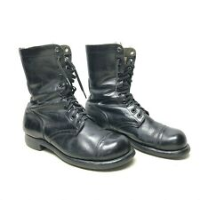 Vintage WW2 US Army BF G GI jump black leather boots size 8 1/2