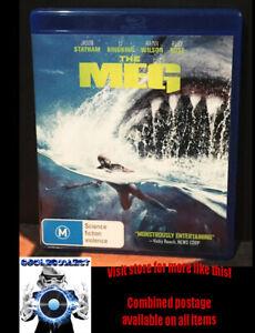 The Meg (2019) - Horror Blu-ray Jason Statham