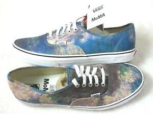 Vans x MoMA Womens Authentic Claude Monet Water Lilies Canvas Shoes Size 8 NIB
