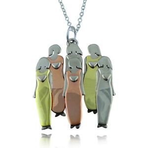 Mima & Oly Six Sisters Necklace - Family Sister 6 Sisters Girlfriends *NEW*