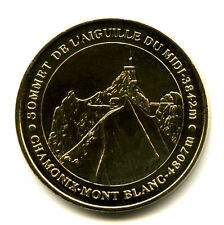 74 CHAMONIX Aiguille du Midi, 4807 mètres, 2008, Monnaie de Paris