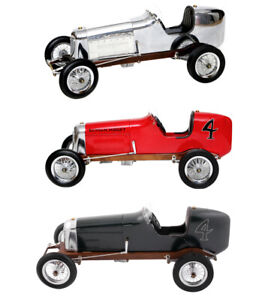 Modèle Bantam Nain Spindizzy Racer Métal Voiture de Course Objet Collection