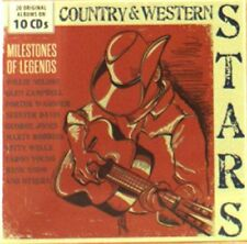 Country and Western Stars  Milestones Of Legends [CD]