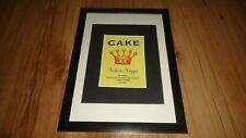 CAKE fashion nugget-framed original advert