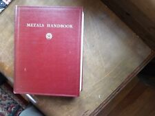 1958 Metals Handbook Lyman American Society for Metals Diagrams Data Info ++