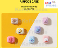 BTS BT21 Official Baby Character Airpod Case Cover KPOP Goods Authentic Item