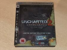 Uncharted 2 Among Thieves Limited Steelbook Collector's Edition PS3