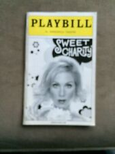 SWEET  CHARITY PLAYBILL CHRISTINA APPLEGATE, DENIS O'HARE,