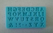 Martha Stewart Alphabet Silicon Mold - NEW RECOMMENDED