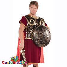 Placa de pecho adultos Spartan Romano Armadura y capa Accesorio Disfraz Elaborado Vestido
