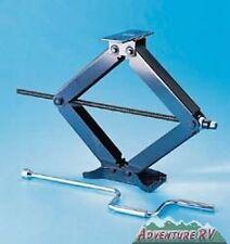"Camco Olympian 20"" 6500 Pound Leveling Stabilizer Scissor Jacks 2 Pack 57401"