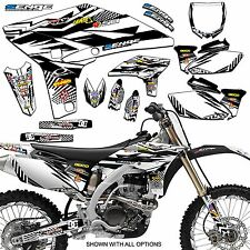 2010 2011 2012 2013 YZ 450F GRAPHICS KIT YZ450F YAMAHA DECALS DECO STICKERS