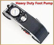 Heavy Duty Foot Pump Single Barrel Tyre Inflater Pump Tyre Motorbike Car Bike