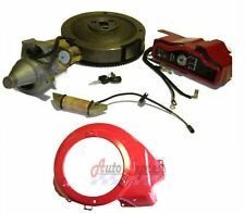 FIT Honda GX390 13 hp ELECTRIC START KIT SHROUD STARTER MOTOR KEY BOX FLYWHEEL