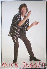 "Mick Jagger ""Primitive Cool"" U.S. Promo Poster-Rolling Stones,Classic Rock Music"